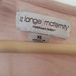 Liz Lange Tops - Maternity shirt